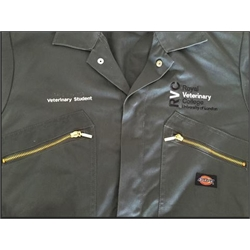 Image for Embroidered Boiler Suit (36R / Long Sleeved)